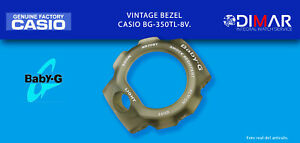 Replacement Vintage Original Bezel Casio BG-350TL-8V