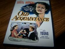 Old Acquaintance (DVD, 2006) Bette Davis Miriam Hopkins