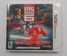 Big Hero 6: Battle in the Bay  (Nintendo 3DS, 2014) Brand New