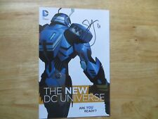 2015 DC THE NEW UNIVERSE SAMPLER PROMO SIGNED BY SCOTT SNYDER,  WITH POA