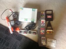 Nintendo NES Console Bundle Tested & Working Complete w/ 4 games game genie