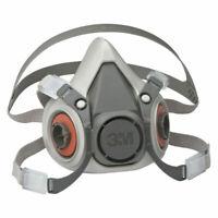 3M Half Facepiece Respirator 6000 Series, Reusable, Small (No Filters)