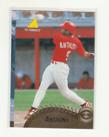 ERIC ANTHONY 1995 Pinnacle #306 Oddball Miscut Misaligned Master Set Reds
