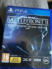 STAR WARS : BATTLEFRONT II ELITE TROOPER - EDITION DELUXE PS4