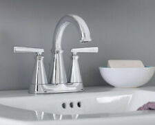 "American Standard ""Edgemere"" 4"" Centerset Lavatory Faucet - Polished Chrome"
