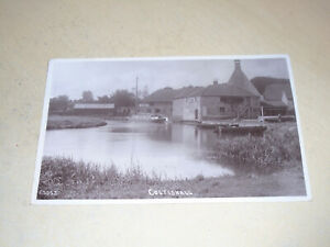 EARLY 1910 REAL PHOTO PC - COLTISHALL, NORFOLK BROADS, NORFOLK
