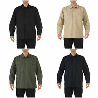 5.11 Tactical Men's Ripstop TDU Long Sleeve Shirt, Style 72002, Sizes XS-6XL