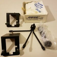 NOS - Bose - ES-2 - Black Speaker Stands, For Bose Acoustimass  -Un-Tested -READ