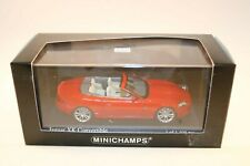 Minichamps 1:43 Jaguar XK Convertible Red 2006 mint in box
