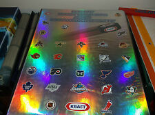 1996-97 NHL KRAFT HOCKEY PROMOTIONAL SET IN ALBUM