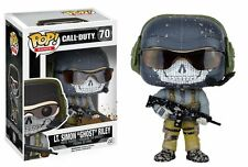 "Funko Pop Games Call Of Duty: Lt. Simon ""Ghost"" Riley Vinyl Action Figure Toy 70"