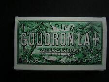 Vintage Cigarettes Papers GOUDRON LA+ No111 for Rolling Machine mint cond