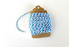 Baker's Twine - Blue & White Cotton Baker's Twine 10 Meters 12 ply