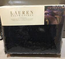 New Ralph Lauren New Bohemian Black Velvet Quilted Beaded Euro sham (1)