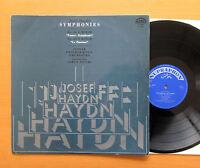 Haydn Symphony 44 Trauer & 49 La Passione 1970 NM/EX Supraphon 0 10 0963 Mono