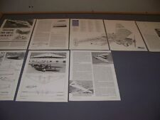 Vintage.Flying Wings: Hill Pterodactyl V.History/3-Views/Data.Ra re! (27B)