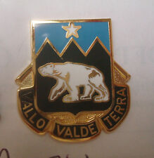 ARMY CREST DUI, 761ST MILITARY POLICE BN