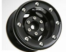 RC 1/10 TRUCK Rims Wheels 2.2 BEADLOCK ROCK CRAWLER Wheels GT (2 RIMS)