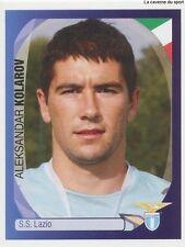 N°185 ALEKSANDAR KOLAROV # SERBIA S.S LAZIO STICKER PANINI CHAMPIONS LEAGUE 2008