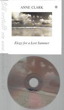 CD--ANNE CLARK -- --- ELEGY FOR A LOST SUMMER