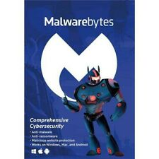 Malwarebytes Anti-Malware 3.0 Brand New for 5 Device 854248005798 Key Code only