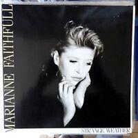 MARIANNE FAITHFULL LP STRANGE WEATHER 1987 EUROPE VG++/VG++ OIS