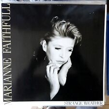MARIANNE FAITHFULL LP STRANGE WEATHER 1987 EUROPE VG++/VG++ OIS