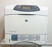 HP LaserJet 4250dtn Workgroup Laser Printer