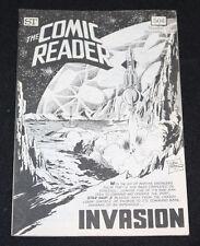 1974 December The Comic Reader Fanzine #113 Invasion Rocket Cover VF