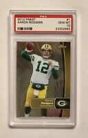 AARON RODGERS, 2012 Topps Finest, PSA 10 GEM MINT, Green Bay Packers, Low POP 12