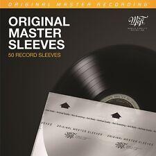 Mobile Fidelity MFSL - MOFI Original Master Sleeves 50 Pack NEW