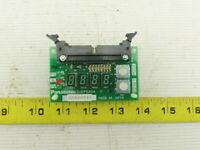 Panasonic ZUEP5404 4 Digit Circuit Board LED Counter Module