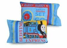 THOMAS THE TRAIN blue Bedtime Express pillowcase NEW 2006 oop cotton bedding