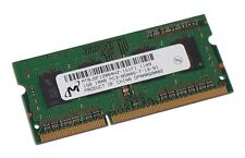 Micron PC-8500 1 GB SO-DIMM 1066 MHz DDR3 Memory (MT8JSF12864HZ-1G1F1)
