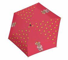 doppler Kids Umbrella Regenschirm Accessoire Little Princes Rot Grau Neu