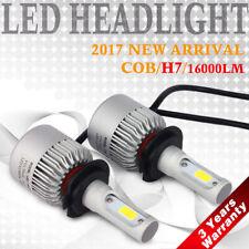 H7 72W 16000LM LED Headlight Kit Car Conversion Bulbs Beam 6000K White Light KFP