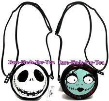 Disney Park Nightmare Before Christmas Jack and Sally Cross-Body Bag Purse (NEW)