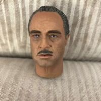Man Action Doll Buring Soul 1//6 Marlon Brando Godfather Head Sculpt Fit 12in