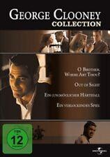 JENNIFER LOPEZ,CATHERINE ZETA-JONES - GEORGE CLOONEY COLLECTION 4 DVD NEU