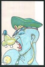 Andrea Pazienza : cartolina riproducente copertina di Frigidaire del 1982
