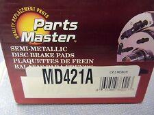 Parts Master MD421A Disc Brake Pad Set FREE Fast Shipping