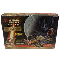 Star Wars Episode 1 Battle For Naboo 3-D Action Strategy Adventure Board Game