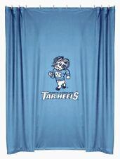NEW University of NORTH CAROLINA TARHEELS Fabric Shower Curtain