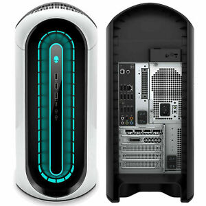 Dell Alienware Aurora R10 Gaming Desktop Ryzen 5 3500 8GB 512GB RX 5700 White