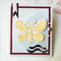 Stanzschablone Schmetterling Weihnacht Hochzeit Geburtstag Oster Karte Album DIY