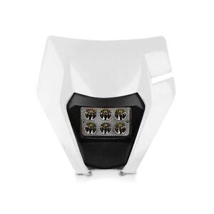 Set Faro LED para KTM Freeride 250 F / R con Mascara BK2 blanco