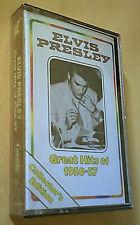 Elvis Presley Great Hits Of 1956-57 Sealed Vtg Cassette -Reader's Digest Music