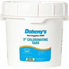 "Doheny's Swimming Pool Chlorine 3"" Tabs 25lbs *** NEW & FREESHIP ***"