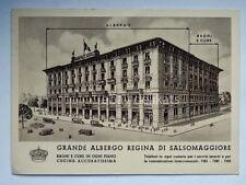SALSOMAGGIORE Grande Albergo REGINA Parma vecchia cartolina