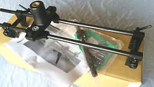LOCK MORTICER JIG  NEW UPDATED VERSION WITH  4 CUTTERS INCLUDED (mortice jig)